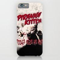 Pirahna Kitten iPhone 6 Slim Case