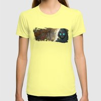 Resist Womens Fitted Tee Lemon SMALL