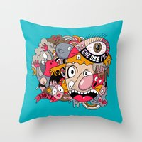 See It. Throw Pillow