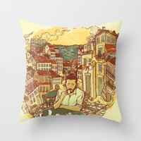 Lisbon Throw Pillow