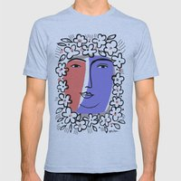 Goddess Of Spring Mens Fitted Tee Athletic Blue SMALL