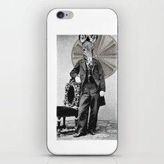 Zebra Face iPhone & iPod Skin