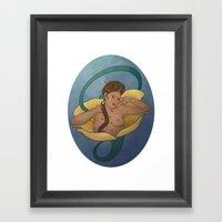 Buttercup Framed Art Print