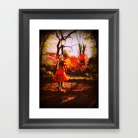 Autumn Fae Framed Art Print