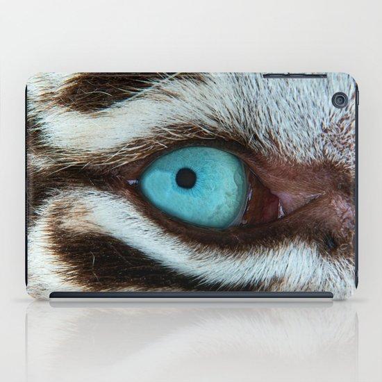 WHITE TIGER BEAUTY iPad Case