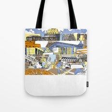 NY Stripes Tote Bag