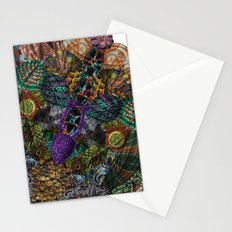 Psychedelic Botanical 12 Stationery Cards