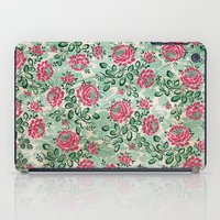 Retro French Floral Pattern iPad Case
