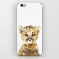 Little Mountain Lion iPhone & iPod Skin