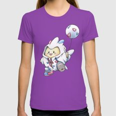 Kiss Me! I'm Stylish! Womens Fitted Tee Ultraviolet SMALL