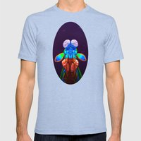 Intense Mantis Shrimp Mens Fitted Tee Tri-Blue SMALL