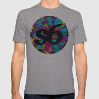 CMYK Society6 Mens Fitted Tee Athletic Grey SMALL