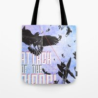 Attack of The Birds! Tote Bag