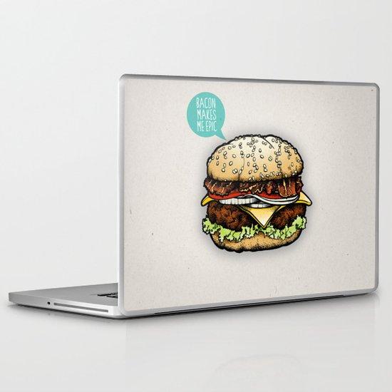 Epic Burger Laptop & iPad Skin