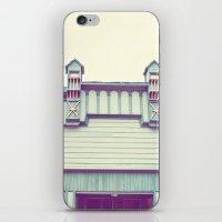 Green Facade iPhone & iPod Skin