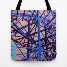 Nighttime Cyclone Tote Bag