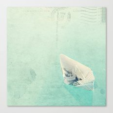 The boat Canvas Print