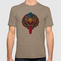 Artificial Mythology Mens Fitted Tee Tri-Coffee SMALL