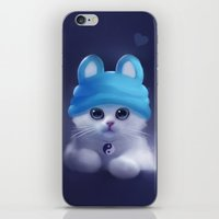 Yang The Cat iPhone & iPod Skin