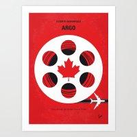No606 My Argo Minimal Mo… Art Print