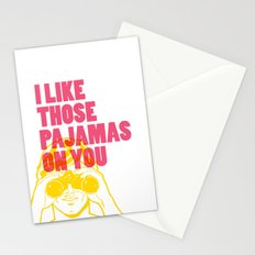 I Like Those Pajamas On You Stationery Cards