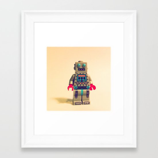 Robot 2000 Framed Art Print