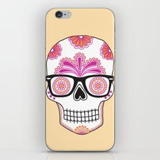 sugar skull #bonethug iPhone & iPod Skin