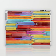 Zippers! Laptop & iPad Skin