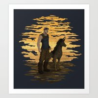 Riddick And Escape Artis… Art Print