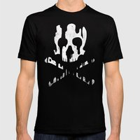Skullmelt Mens Fitted Tee Black SMALL