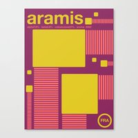 Aramis Single Hop Canvas Print