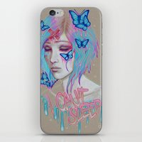 I Can't Sleep iPhone & iPod Skin
