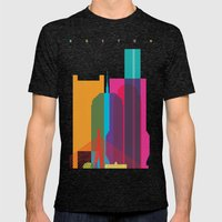 Shapes Of Boston. Accura… Mens Fitted Tee Tri-Black SMALL