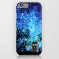 Lonely Tardis Doctor Who… iPhone 6 Slim Case