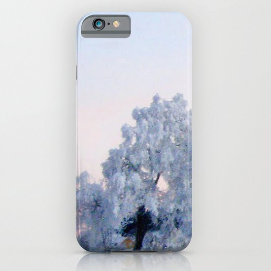A cold day in Paradise iPhone & iPod Case