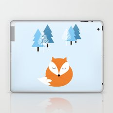Sweet dreams with fox Laptop & iPad Skin