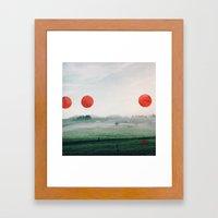Painting On My Photograp… Framed Art Print