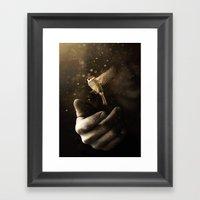 Go On Be Free Framed Art Print