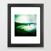 Wet and Rusting Framed Art Print
