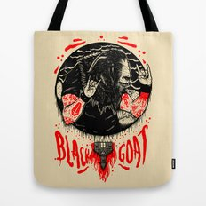 Black Goat Tote Bag