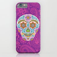 Flower Power Skully iPhone 6 Slim Case