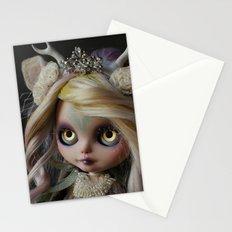 ANCIENT FOREST DEER SPIRIT (Ooak BLYTHE Doll) Stationery Cards