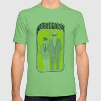 Rushmore Mens Fitted Tee Grass SMALL