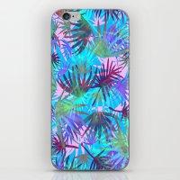 Tropicana - Blue iPhone & iPod Skin
