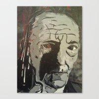 Junky Canvas Print