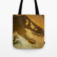 Jurassic Minimalist Tote Bag