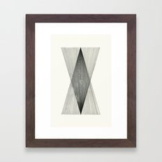 Intersect Framed Art Print