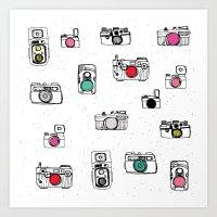Pop Camera Art Print