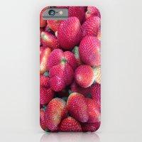 iPhone & iPod Case featuring Strawberries in Paloquemao - Fresas en Paloquemao by David Hernández-Palmar