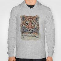 Cute Tiger Cub 903 Hoody